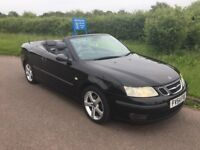 2004 (54) SAAB 9-3 T Vector Convertible 2.0 - Full Service History & Long MOT