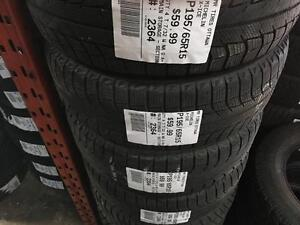 195/65/15 Michelin X-Ice *Winter Tires*