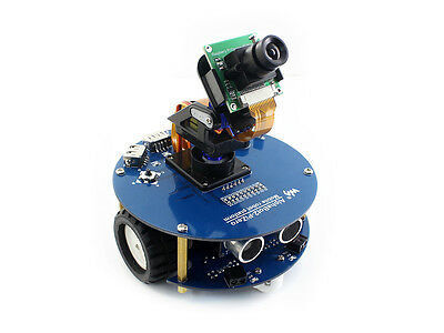 AlphaBot2 Robot Smart Car Building Kit for Raspberry Pi Zero/W (Raspberry Pi 2 Car Kit)