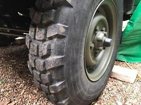 Military XCL Tyres x3