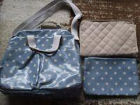 Changing bag polka dot