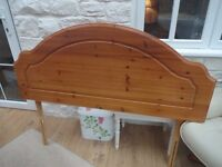 PINE DOUBLE HEADBOARD ( MAYERS ) IN EXCELLENT CONDITION !