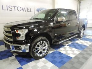 2016 Ford F-150 4x4 - Supercrew Lariat - 145 WB One Owner|Twin P