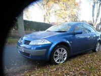 2005 Renault Megane Convertible - Nice car, 6 speed £650 full mot