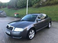 **AUTOMATIC+FULL SERVICE HISTORY+SKODA SUPERB COMFORT TDI PD 1.9 DIESEL 5 DOOR (2005 YEAR)**
