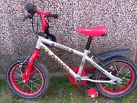"Apollo 10"" bike including stabilisers."
