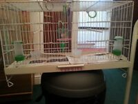 BIRD CAGE, for small birds see pic