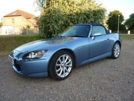 HONDA S2000 GT 2007 MODEL (POWERED SOFT TOP, HARDTOP WITH STAND AND COVER)