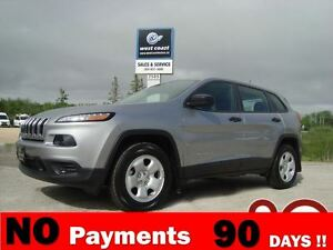 2015 Jeep Cherokee Sport 4wd *Htd Seats/Remote Start**