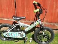 Good condition small child's football bike