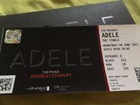 1x Adele Seating Ticket - 28th of June - Wembley Stadium