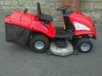 Large Ride on Lawnmower Petrol Mower, Briggs and Stratton Engine, 50 inch Cutting Deck