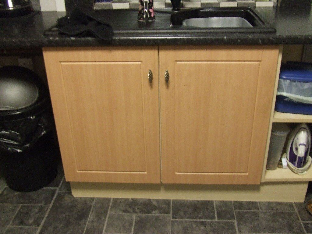 Kitchen cupboard doors and drawer fronts.