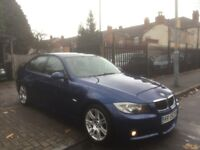 2006 BMW 3 Series 2.0 320i M Sport 4dr LE MANS BLUE ++ BARGAIN ++ COMES WITH PRIVATE PLATE ++ 2 KEYS