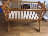 Swinging Baby Cradle for sale - Mama's & Paps's good condition