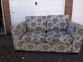 2 two-seater settees used, but in very good condition