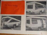 imprompto folding caravan