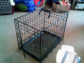 Four Paws Deluxe Dog Crate.