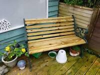 Restored 2 seater bench