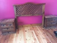 Bedroom furniture for sale. Mexican pine