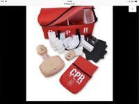 CPR (BHF) RESUSCITATION TRAINING KIT (USED) (£100 REDUCED)