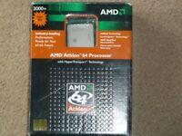 AMD Athlon 64 +3000 PC Processor