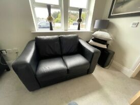S2seater Leather Sofa