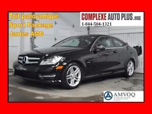 2012 Mercedes-Benz C-Class C250 Coupe *Mags AMG, Toit pano, Cuir