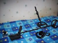 """Metal Detector XP ADX 150 on a straight shaft with extra 11in coil """