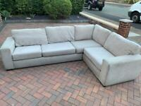 Corner sofa, couch,settee (free delivery 🚚🚚🚚)