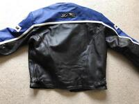 Hunter XL leather motorbike jacket