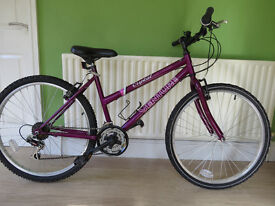 """LADIES/GIRLS MOUNTAIN BIKE...""""VENTURE CRYSTAL"""" 17"""" FRAME...GREAT CONDITION,READY TO RIDE AWAY."""