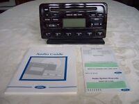 Ford Radio/CD Player - 6000 CD RDS EON (walnut wood effect fascia)