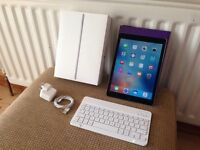 iPad Air 2 64GB, Case & Bluetooth Keyboard Included