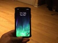 Apple iPhone X only 10 days old 64gb with receipt and box ,comes with screen protector and case