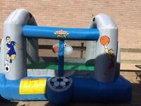 Small bouncy castle.