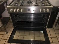 Flavel 5 ring gas burner with electric oven Immaculate condition