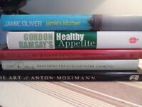 Cookery books - all in very good condition