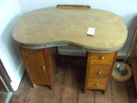 Kidney shaped dressing table ref 6/12