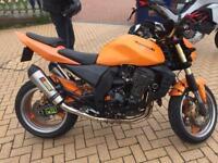 Kawasaki Z1000 px swap HD sportster
