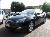 Vauxhall Astra 2.0 CDTi 16v SRi 5dr 2011 (11 reg), Hatchback ONE OWNER, BLACK, DIESEL
