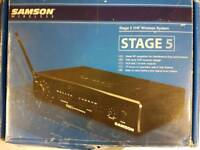 Stage 5 vhs wireless system Sampson wireless