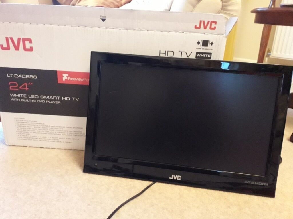82c40bed7e3 JVC 24 quot  LED SMART HD TV with built in dvd player