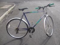 RETRO 12 SPEED HYBRID BIKE