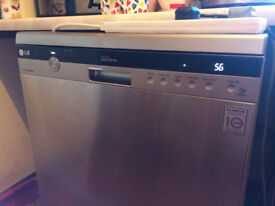 For Sale - Full size LG True Steam Dishwasher 14 place setting. V good condition