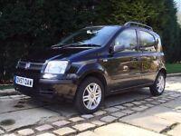 Fiat Panda 1.3 Diesel Black M/Jet 5 Door Excellent Condition / Over 60mpg / £30 Annual Road Tax
