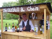 Rustic Bar for Hire for Weddings and Events