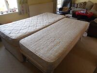 Guest bed. Single makes into double.Excellent condition