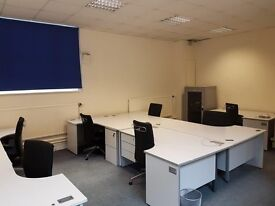 Bright and airy desk and office spaces in Lee, Blackheath and Woolwich - All bills included