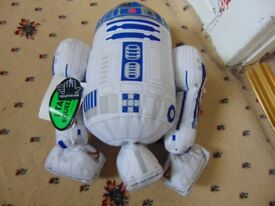 r2d2 star wars signed kenny baker talking toy,very rare collect aberbargoed